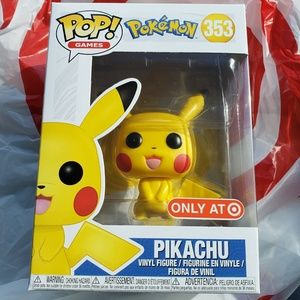 POP FUNKO #353 POKEMON SERIES PIKACHU TARGET ONLY